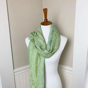 Accessories - Gorgeous green pashmina shawl wrap